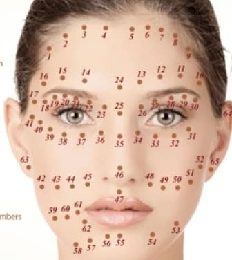 Mole meanings on face female